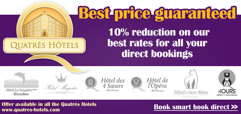 Beliebt Hotel Toulouse : 3 Ours Blanc hotels in Toulouse | OFFICIAL WEBSITE MT59
